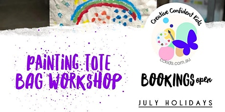 Kids Painting Tote Bags Workshop tickets