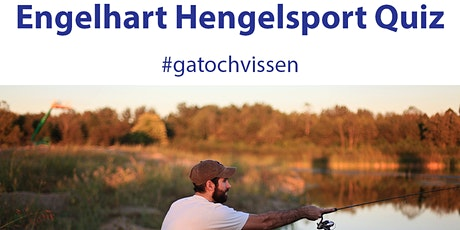 De Grote Engelhart Hengelsport Quiz tickets