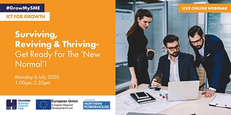 Surviving, Reviving and Thriving - Get ready for the 'new normal'! tickets
