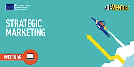 ONLINE ADVENTURE Business Workshop - Strategic Marketing tickets