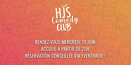 HJS COMEDY CLUB #1 - C'est parti pour la première ! billets