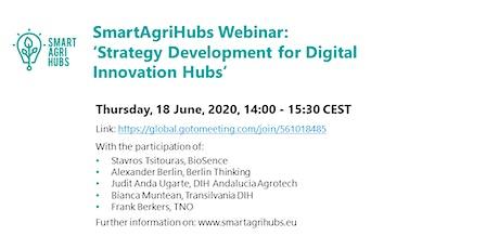 Webinar: 'Strategy Development for Digital Innovation Hubs' tickets