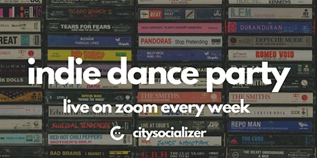 Indie Dance Party Live by Citysocializer tickets
