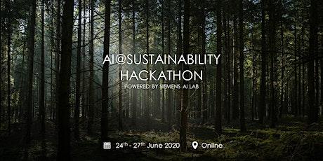 Final Event - AI@Sustainability Hackathon tickets