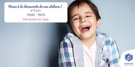 Montessori, un art de vivre (à domicile !) - La Loire - Reunion en ligne ! billets