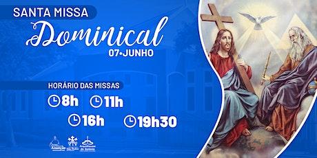Santa Missa Dominical - 07 de Junho  -  Paróquia Nossa Senhora da Assunção ingressos