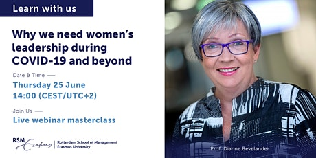 Webinar - Why we need women's leadership during COVID-19 and beyond tickets