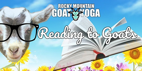 Reading to Goats - June 6th (ONLINE EVENT) tickets