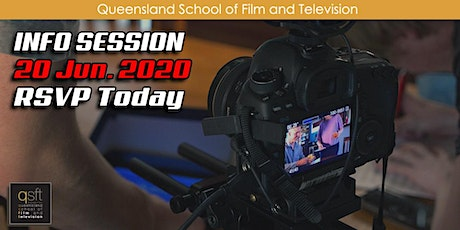 QSFT MEDIA & FILM SCHOOL CAREER INFO SESSION - Saturday, 20th June 2020 tickets