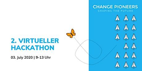 2. virtueller Change Pioneers Hackathon Tickets