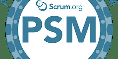 Professional Scrum Master - en ligne  Août 2020 ( PSM-I de Scrum.org ) billets