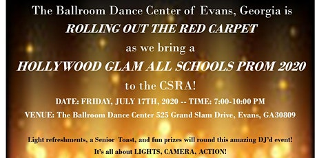 Hollywood Glam ALL SCHOOLS Prom 2020 tickets