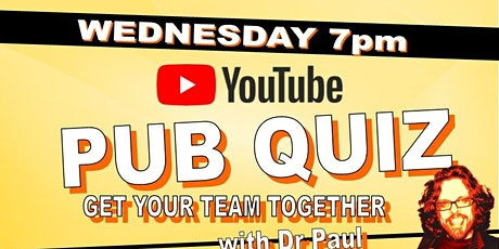 Dr Paul Pub Quiz tickets