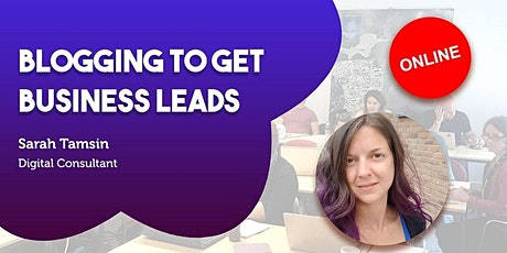 Blogging to get Business Leads tickets