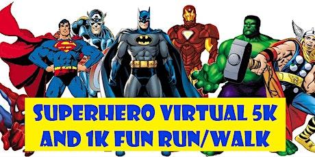 Superhero Run tickets
