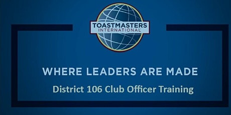 2020 District 106 Division D Officer Training tickets
