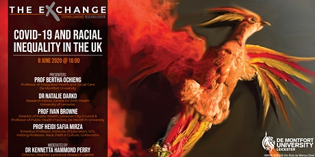 The Exchange - Panel Discussion: COVID-19 and Racial Inequality in the UK tickets