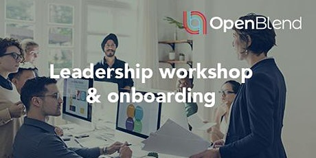 Online - Open Onboarding session & Leadership workshop - 7th July 2020 Tickets