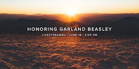 Memorial Service for Garland Beasley tickets