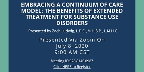 The Benefits of Extended Treatment for Substance Use Disorders tickets