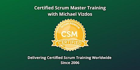 Certified Scrum Master (CSM) Training with Scrum Alliance Certification tickets