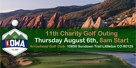11th Annual COWA Charity Golf Outing tickets