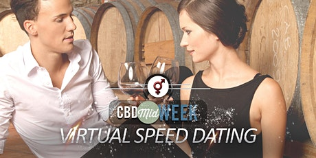 CBD Midweek VIRTUAL Speed Dating   24-35   July tickets
