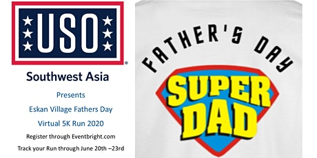 USO Eskan Village Fathers Day Virtual  5k Run tickets