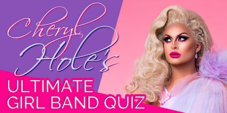 Terrence Higgins Trust Ultimate Girl Band Quiz hosted by Cheryl Hole tickets