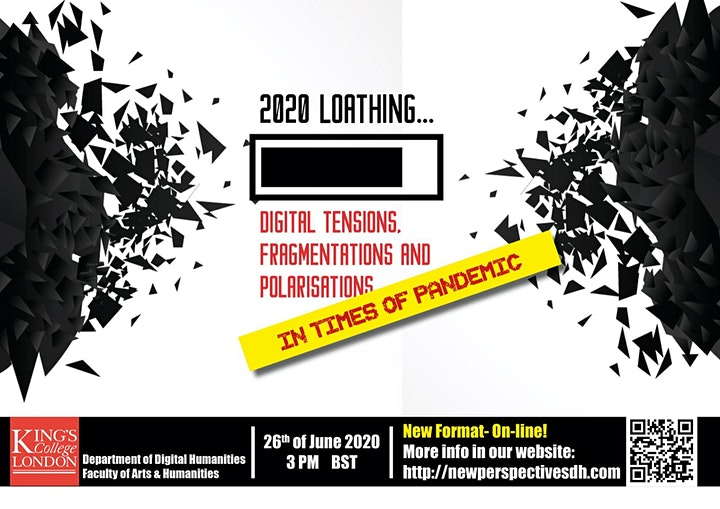 2020 LOATHING: Digital Tensions, Fragmentations and Polarisations image