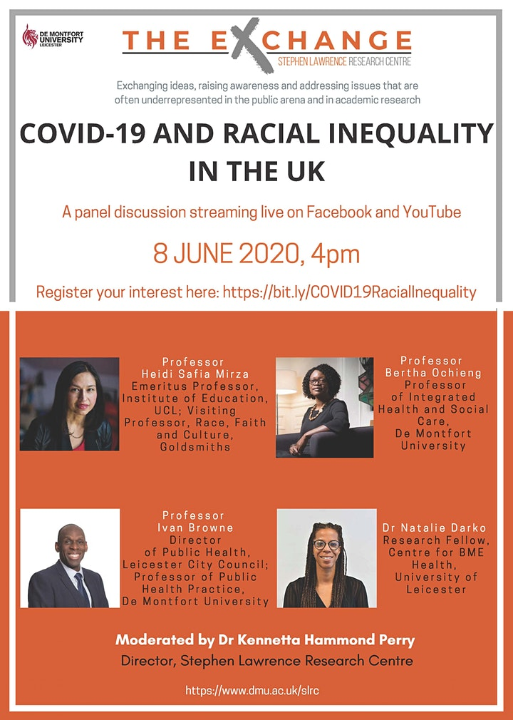 The Exchange - Panel Discussion: COVID-19 and Racial Inequality in the UK image