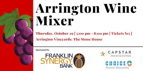 Arrington Wine Mixer tickets