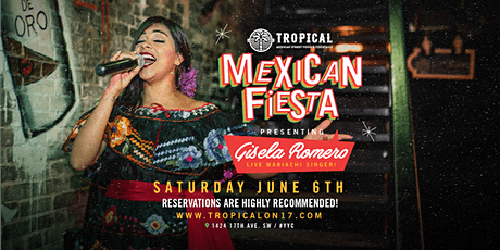 Mexican Fiesta Live Mariachi Performance by Gisela Romero tickets