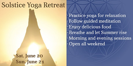 Summer Solstice Yoga Retreat tickets
