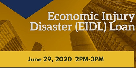 Economic Injury Disaster (EIDL) Loan tickets