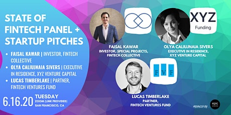 State of Fintech  Panel + Startup Pitches (On Zoom) tickets