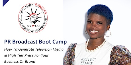 NYWCC: PR Broadcast Boot Camp with Kasey Woods! tickets