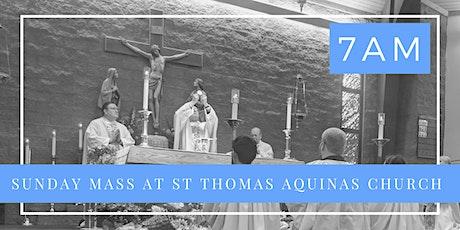 Sunday, June 7th  - Holy Mass 7 am tickets