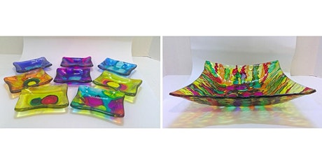 Alcohol Inks on Glass (September) with Kathy Oda tickets