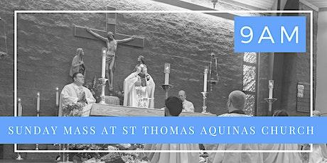 Sunday, June 7th  - Holy Mass 9 am tickets
