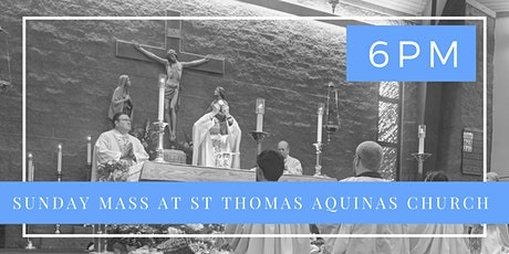 Sunday, June 7th  - Holy Mass 6 pm tickets