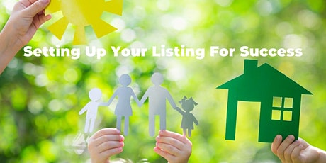 Setting Up Your Listing For Succes - Online CE For David Griffin tickets