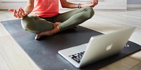 Workshop de Respiração e Meditação ONLINE - Uma introdução GRATUITA aos cursos Arte de Viver bilhetes