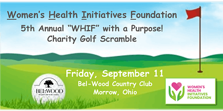 "2020 ""WHIF"" with a Purpose! Charity Golf Outing tickets"