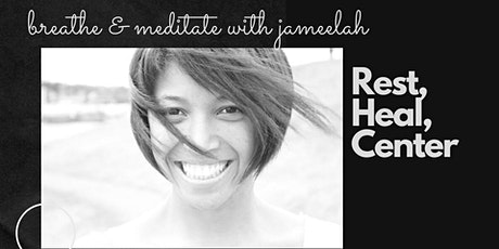 Breathe & Meditate  | An interactive session facilitated by Jameelah tickets