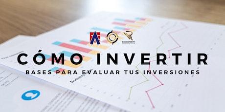 Bases para invertir (en cualquier plataforma) entradas