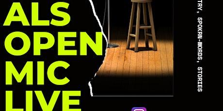 ALS Open Mic Live tickets