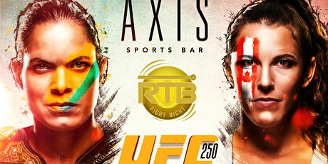 Axis Sports Bar ::  UFC 250 - Nunes vs Spencer :: RTB Fight Night tickets
