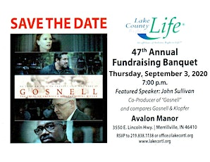 2020 Lake County Right to Life Fundraiser Banquet tickets