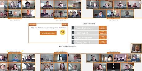 Kalamazoo Virtual Game Night: Trivia, Charades, and Drawing over Video tickets